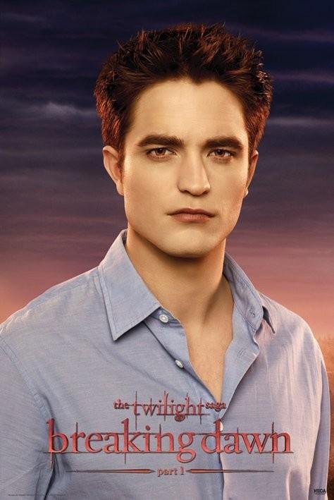 """Plakat Saga """"Zmierzch"""" - """"PRZED ŚWITEM"""" - Edward"""