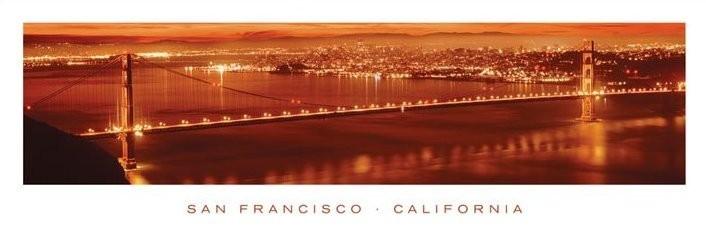Plakat San Francisco - california