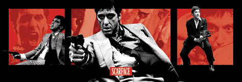 Plakat SCARFACE - armas de fuego