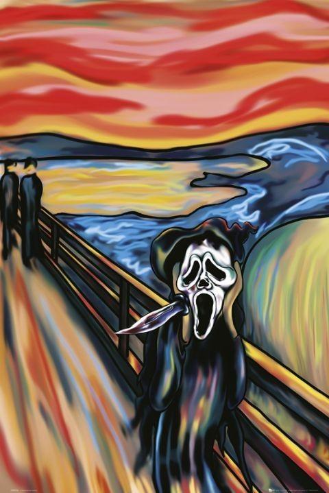Plakat Scream the scream