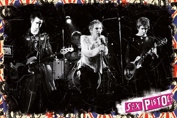 Plakat Sex Pistols - On Stage
