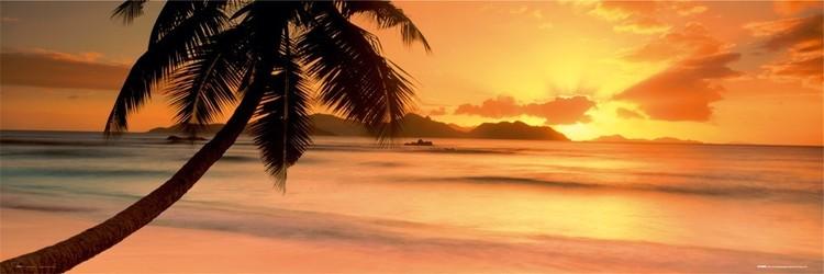 Plakat Seychelle island