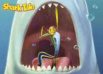 Plakat SHARK TALE  -  mouth