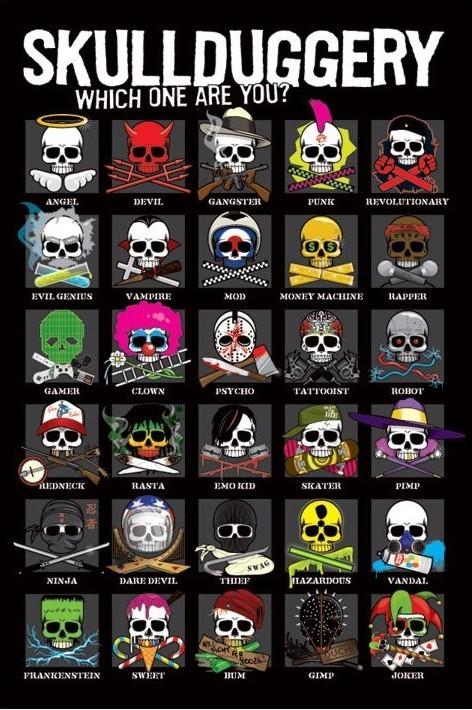 Plakat Skullduggery