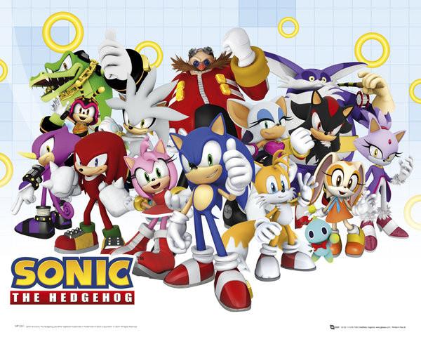 Plakat Sonic modern