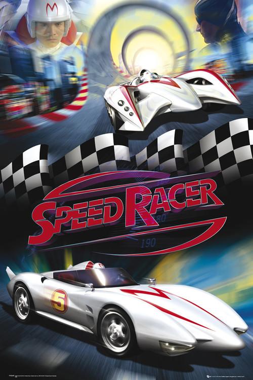 Plakat Speed racer - mach 5