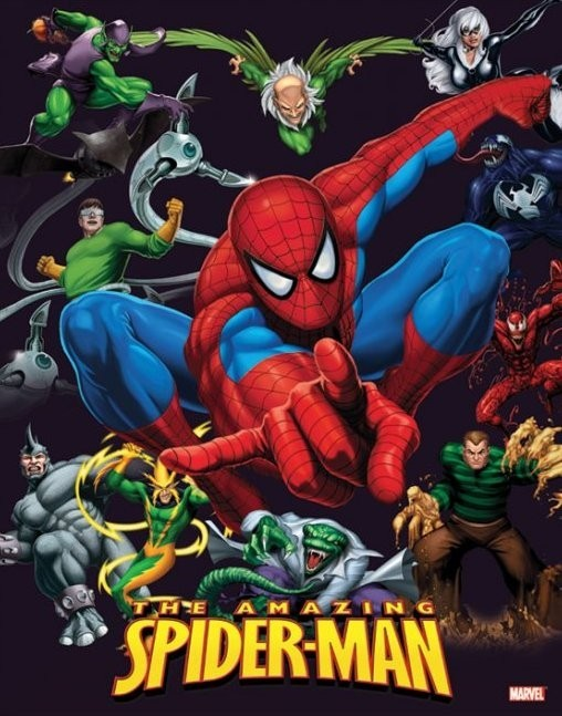 Plakat SPIDER-MAN - characters