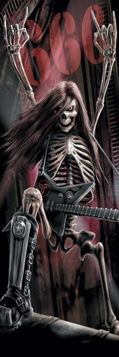 Plakat Spiral - metalhead