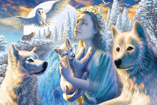 Plakat Spirit of the mountain