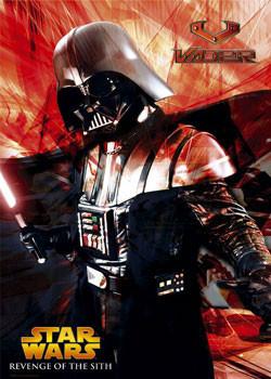 Plakat STAR WARS - Vader