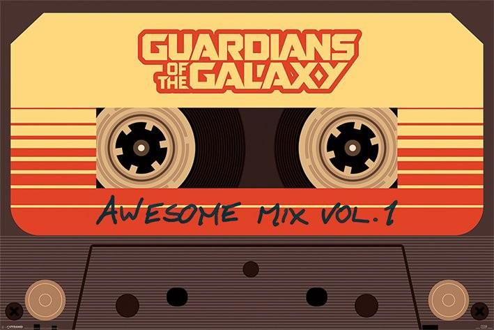 Plakat Strażnicy Galaktyki - Awesome Mix Vol 1