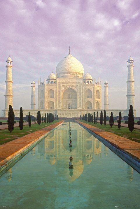 Plakat Taj Mahal