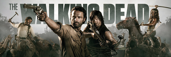 Plakat THE WALKING DEAD - Banner