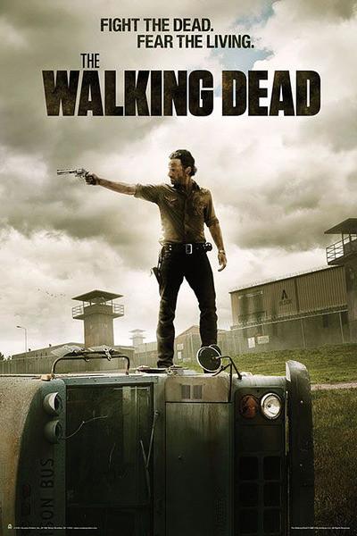Plakat THE WALKING DEAD - season 3 fight the dead.