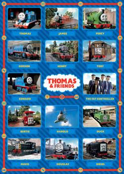 Plakat THOMAS Y SUS AMIGOS