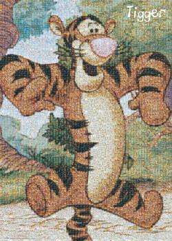 Plakat TIGER - photomosaic