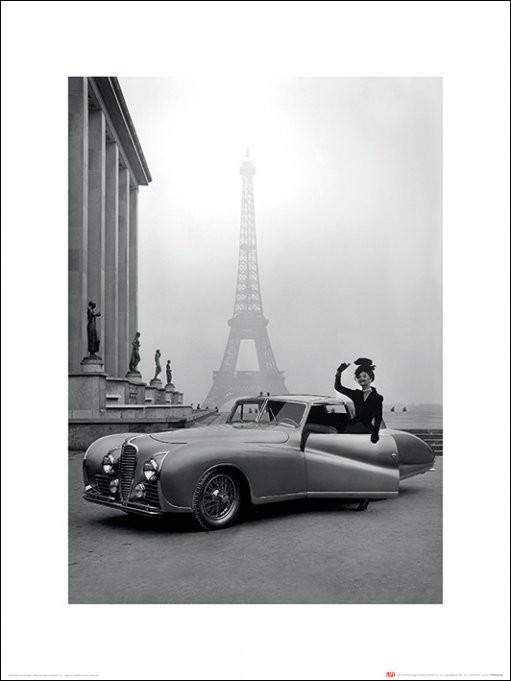 Reprodukcja Time Life - France 1947