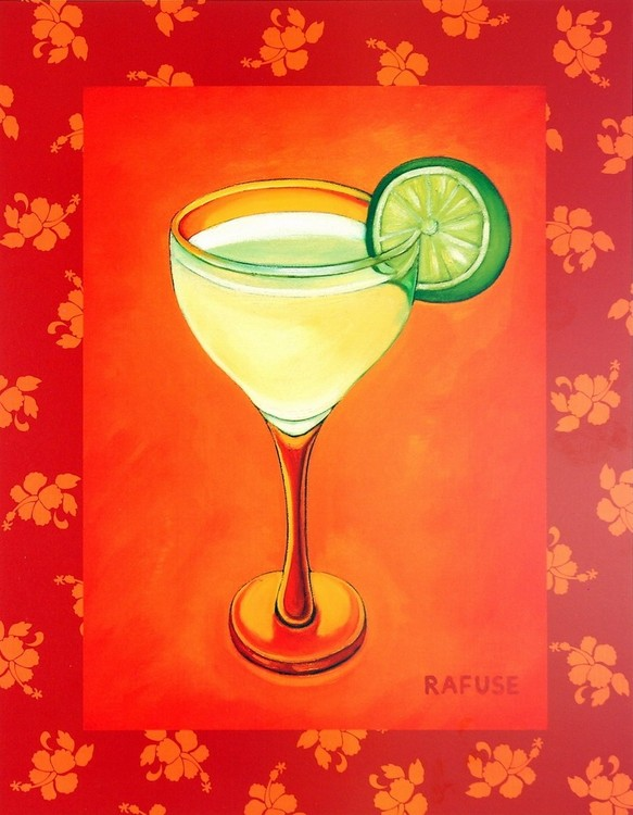 Reprodukcja Tropical Cocktail I