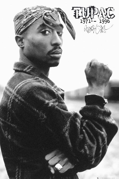 Plakat Tupac - fist
