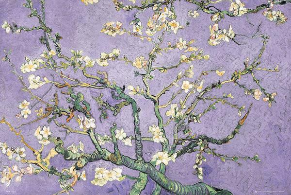 Plakat VINCENT VAN GOGH - purple blossom
