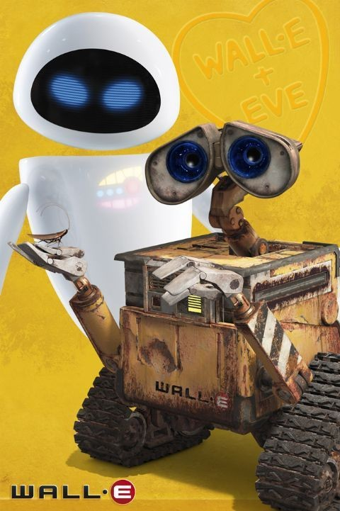 Plakat WALL-E - and eve