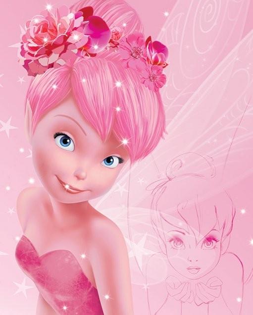 Plakat Wróżki Disneya - Tink Pink