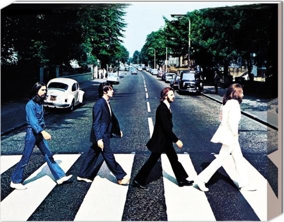 Beatles - Abbey road Płótno
