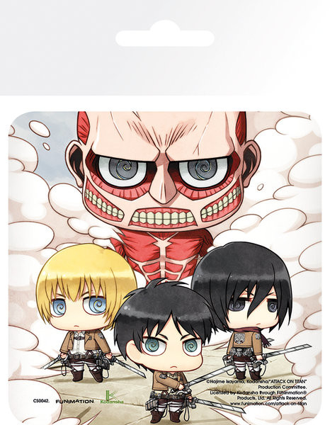 Podstawka Attack On Titan (Shingeki no kyojin) - Group