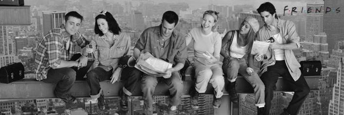 Friends - Lunch on a skyscraper pósters | láminas | fotos