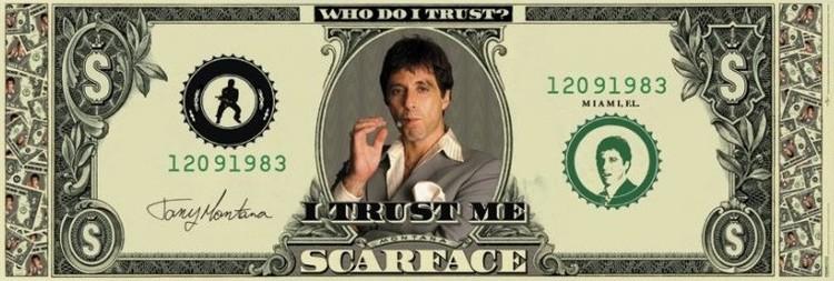 SCARFACE - dollar pósters | láminas | fotos