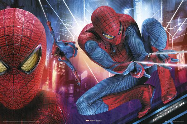 AMAZING SPIDER-MAN - action Poster, Art Print