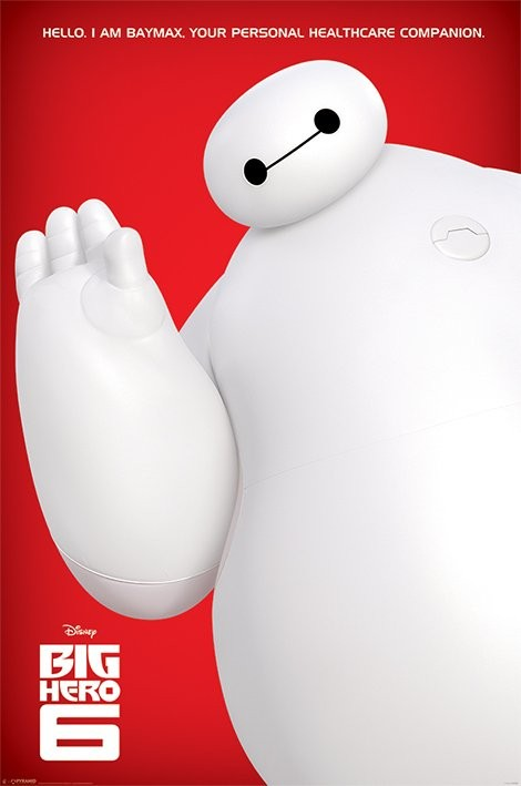 Big Hero 6 - I Am Baymax Poster - EuroPosters