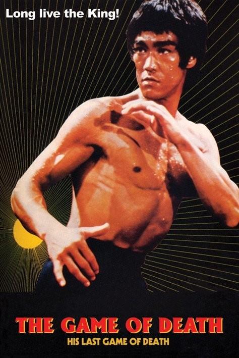 Bruce Lee - game of death/sun Poster, Art Print