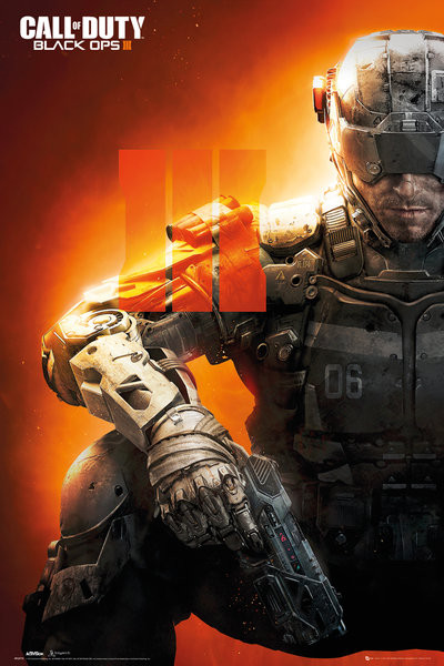 Call of Duty: Black Ops 3 - III Poster : Sold at Europosters