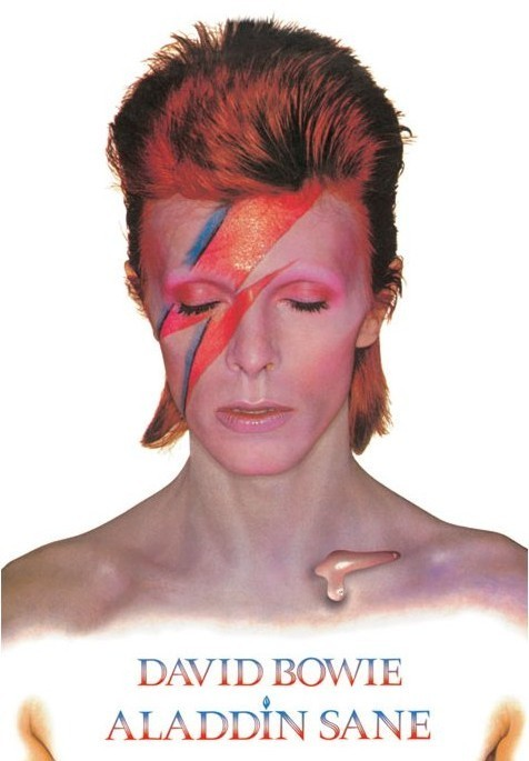 David Bowie Aladdin Sane Poster Sold At Europosters