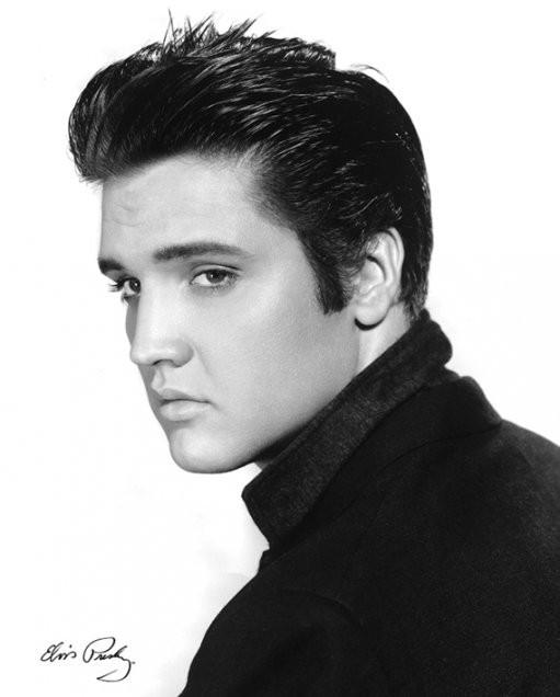 Elvis Presley - portrait Poster, Art Print - elvis-presley-portrait-i9038