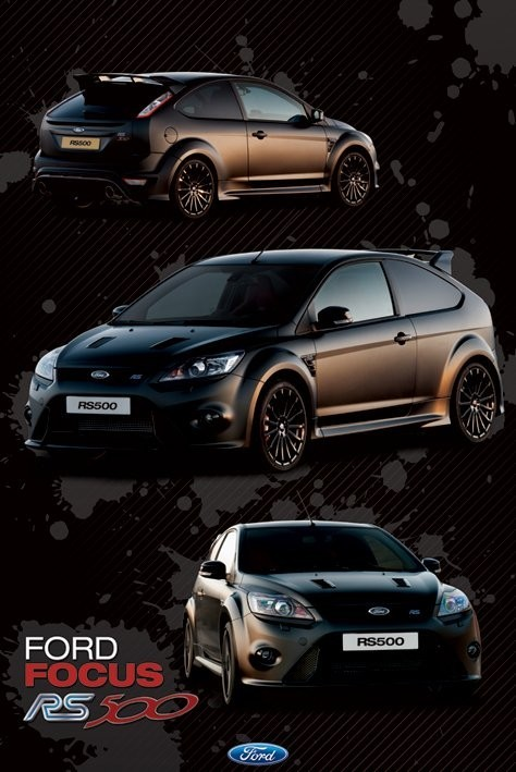 Magnets For Cars >> Ford Focus - rs 500 Poster | Sold at Europosters