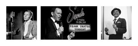 FRANK SINATRA - triptych posters | photos | pictures | images