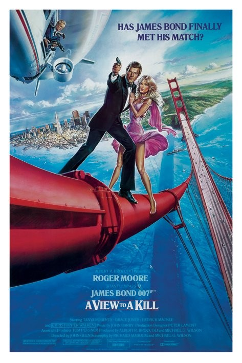 Resultado de imagem para 007 a view to a kill