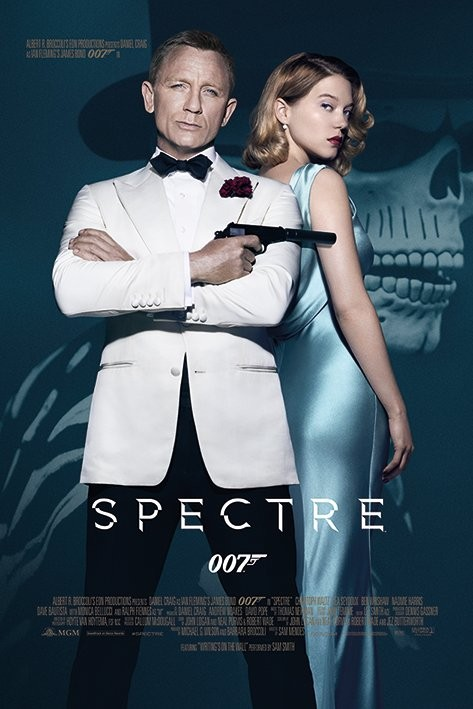 James Bond: Spectre - One Sheet Poster, Art Print