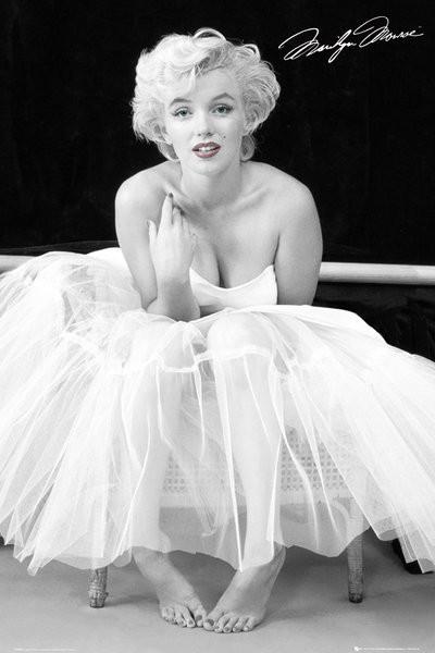 Marilyn monroe ballerina poster sold at europosters for Marilyn monroe with tattoos poster