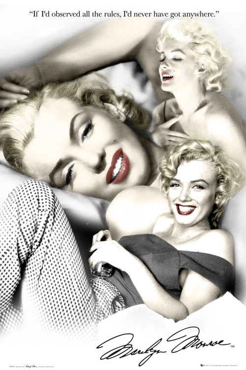 marilyn monroe posters with quotes quotesgram. Black Bedroom Furniture Sets. Home Design Ideas