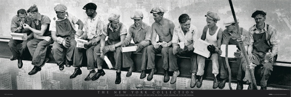 MEN ON GIRDER - new york posters | photos | pictures | images