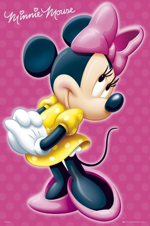 MINNIE MOUSE - signature Poster : Sold at Europosters