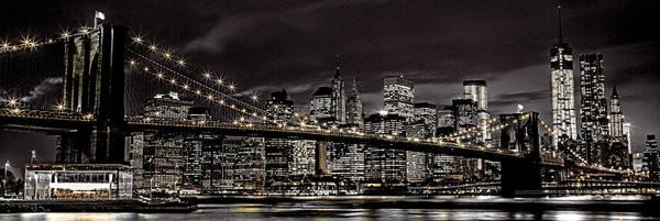 NEW YORK - Assaf Fank Poster, Art Print