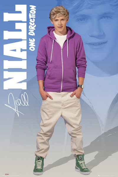 One Direction 2012 Posters One Direction - niall ...