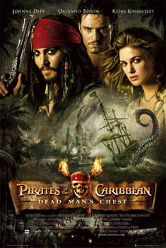 Pirates of Caribbean - one sheet Poster, Art Print