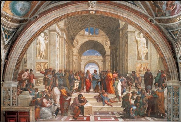 Raphael Sanzio - The School of Athens, 1509 Art print | Sale at ...