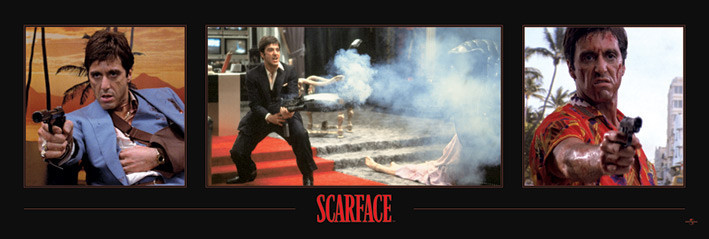 SCARFACE - 3 images  posters | photos | pictures | images