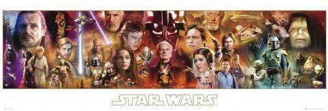 STAR WARS - complete Poster, Art Print